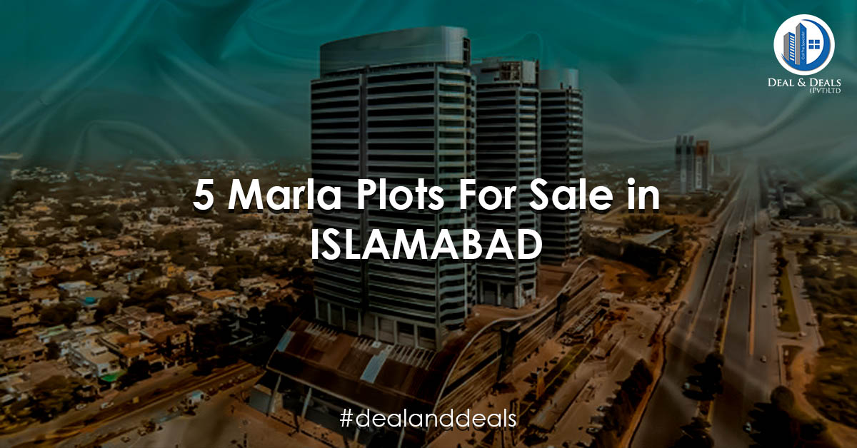 5 Marla Plots For Sale in Islamabad