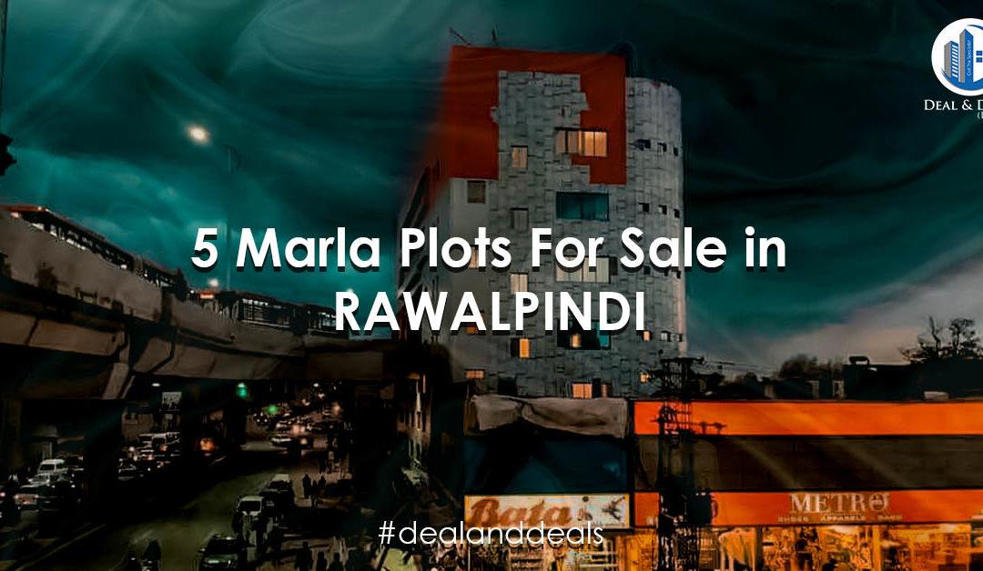 Buy 5 Marla Plots for Sale in Rawalpindi