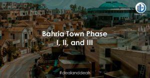 Bahria Town Phase I, II, and III