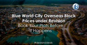 Blue World City Overseas Block - Latest Price Update [10-02-2020]