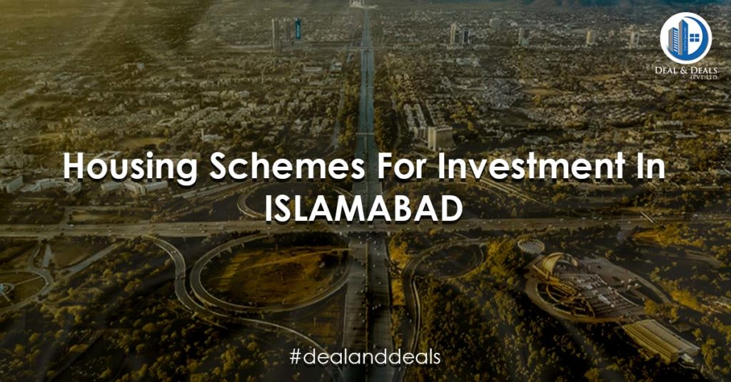 Housing Schemes For Investment In islamabad