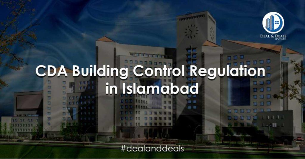 CDA Building Control Regulation in Islamabad