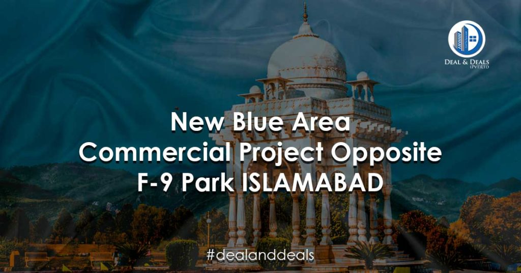 Imran Khan Launches New Blue Area Commercial Project Opposite F9 Park Islamabad