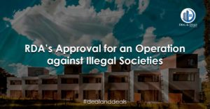 RDA's Approval for an Operation against Illegal Societies