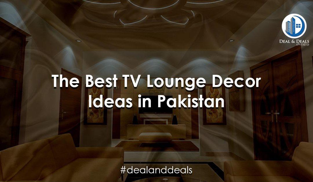 The Best TV Lounge Décor Ideas in Pakistan