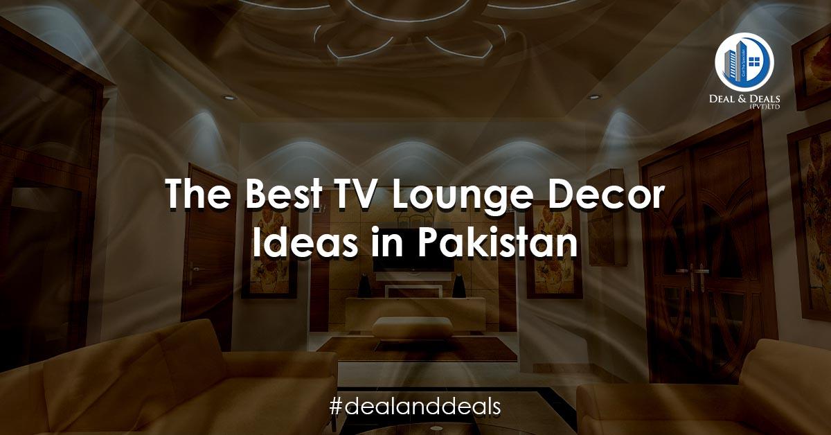 The Best TV Lounge Decor Ideas in Pakistan