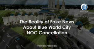 The Reality of Fake News About Blue World City NOC Cancellation