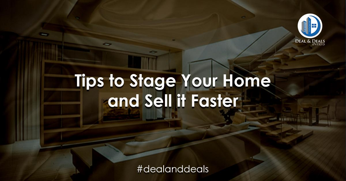 Tips to Stage Your Home & Sell it Faster