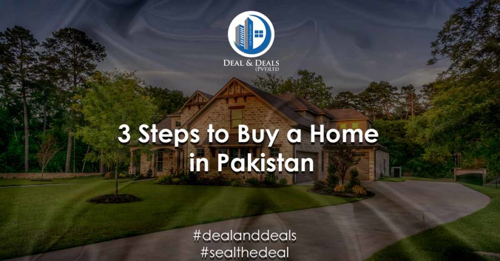 3 Steps to Buy a Home