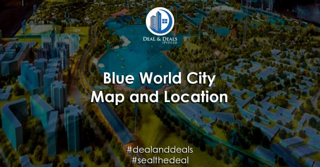 Blue World City Map and Location