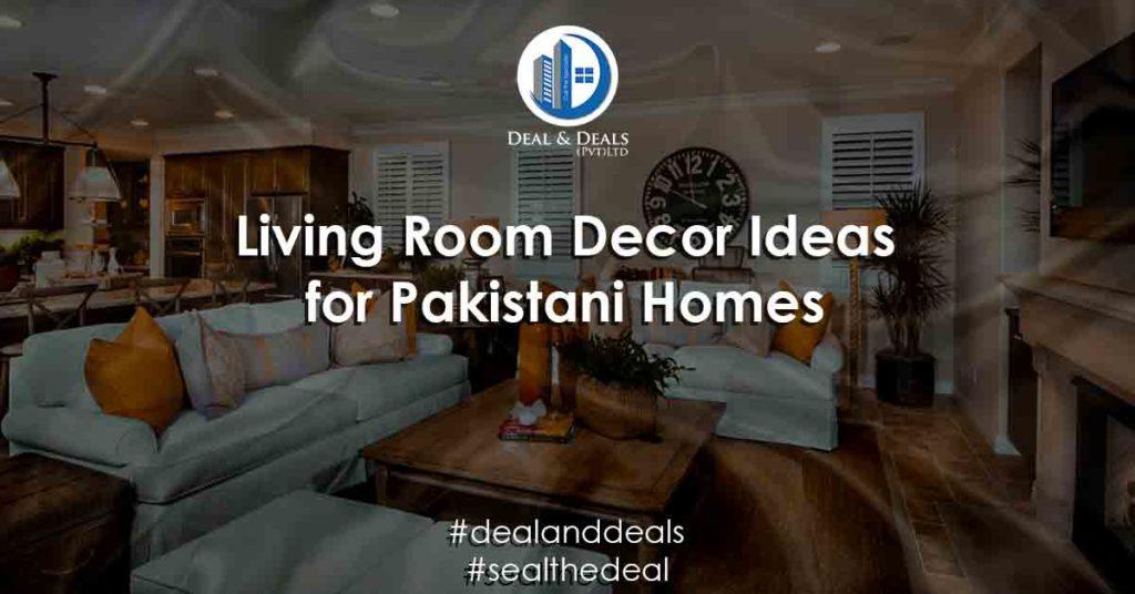 Living Room Decor Ideas for Pakistani Homes