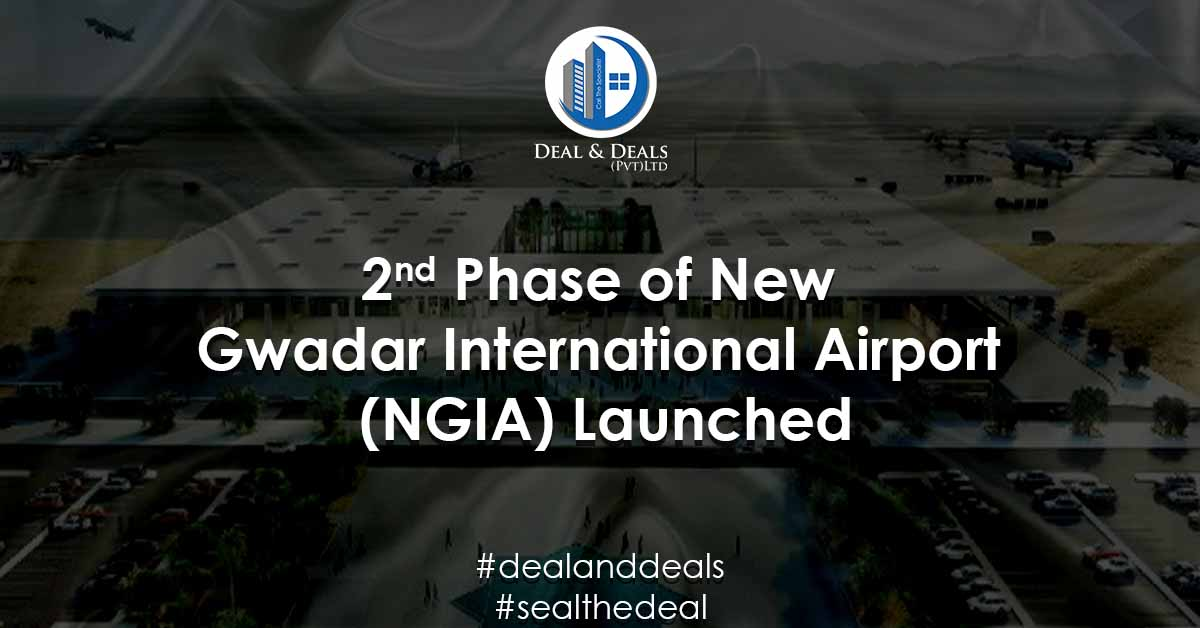 2nd Phase of New Gwadar International Airport (NGIA) Launched