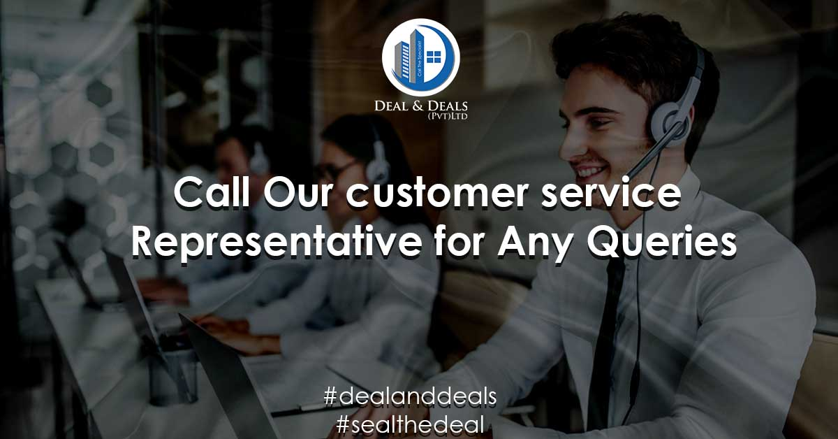 Call Our customer service Representative for Any Queries
