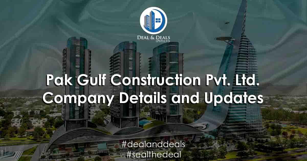 Pak Gulf Construction Pvt. Ltd. Company Details and Updates