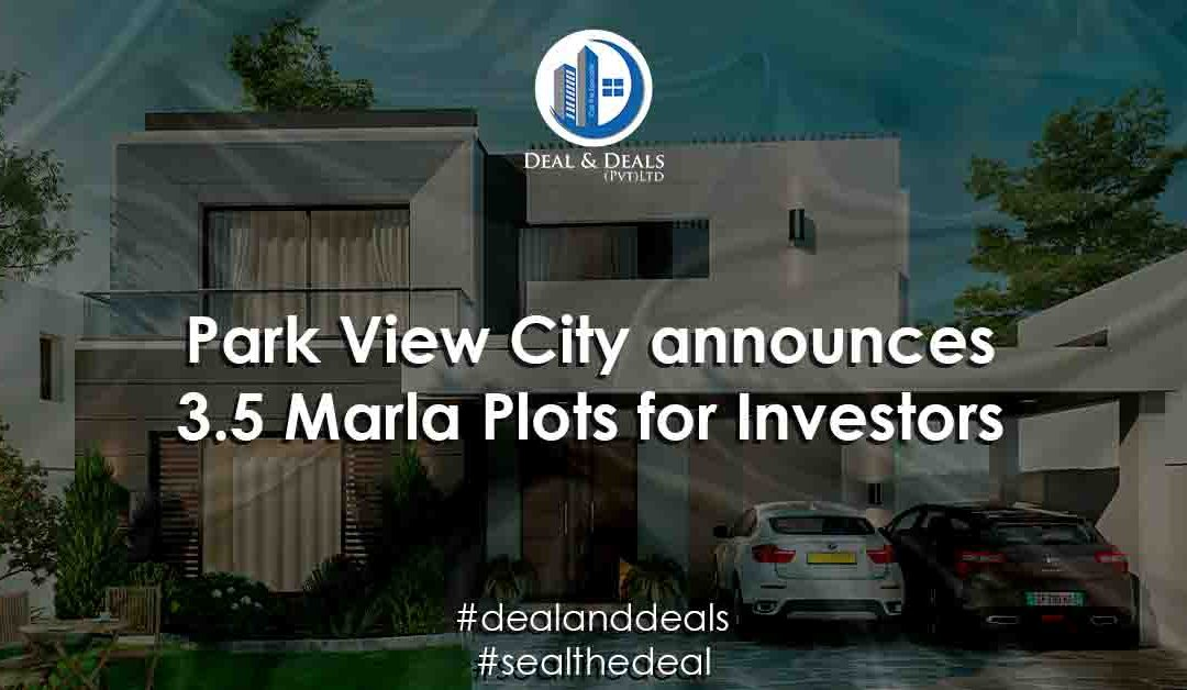 PWC Announces 3.5 Marla Plots for Investors
