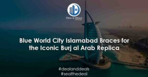 Blue-World-City-Islamabad-Braces-for-the-Iconic-Burj-al-Arab-Replica