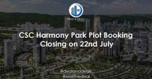 CSC-Harmony-Park-Plot-Booking-Closing-on-22nd-July