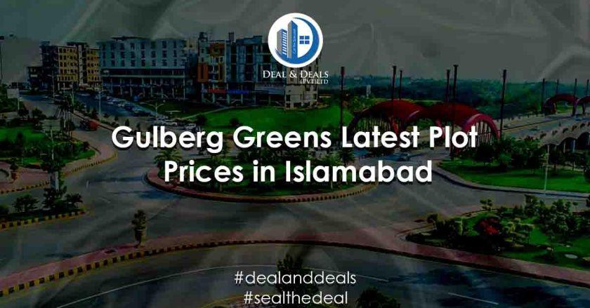 Gulberg Greens – Latest Plot Prices in Gulberg Islamabad