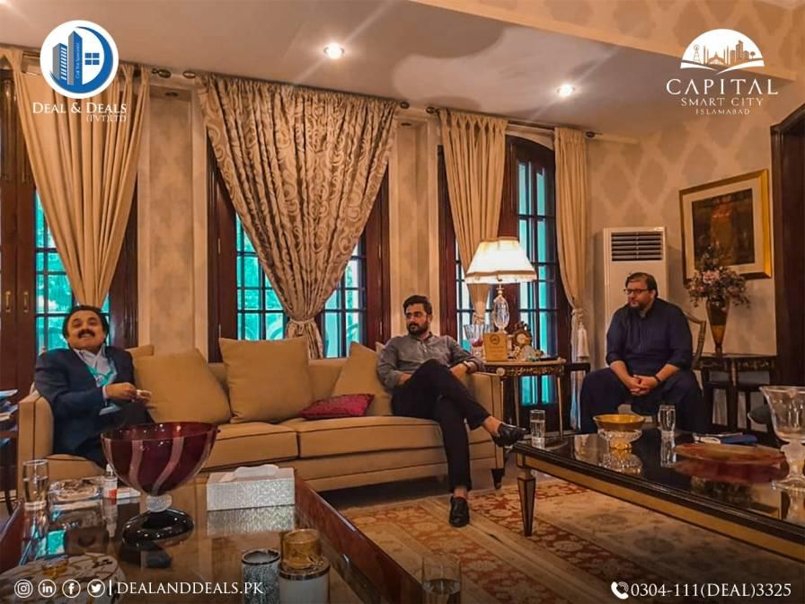 Daniyal Nisar Meets Zahid Rafiq to Discuss Progress of Capital Smart City