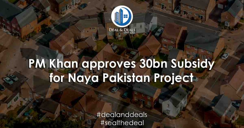 PM Khan approves 30bn Subsidy for Naya Pakistan Project