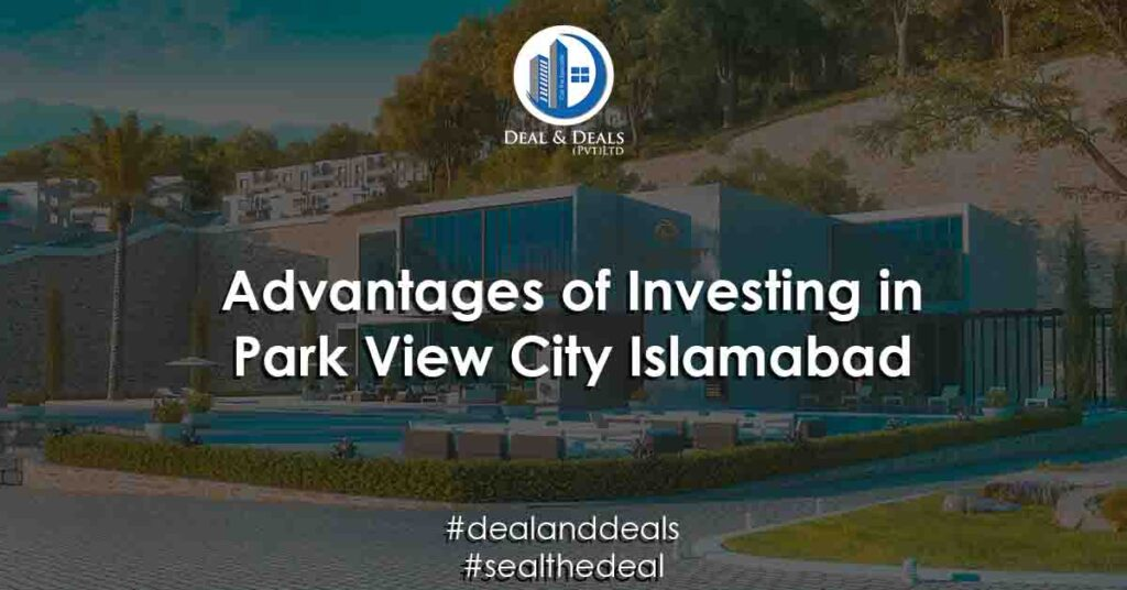 Top 5 advantages of investing in park view city