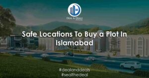 secure location to buy a plot in Pakistan