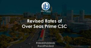 Revised Rates of Over Seas Prime