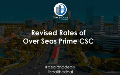 Revised Rates of Over Seas Prime CSC