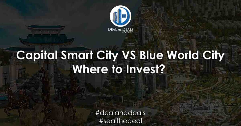 Capital Smart City VS Blue World City Where to Invest?