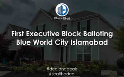 First Executive Block Balloting | Blue World City Islamabad