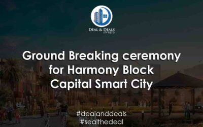 Ground Breaking Ceremony of Harmony Park Block | Capital Smart City