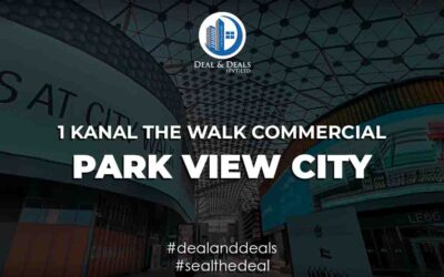 1 Kanal the Walk Commercial – Park View City