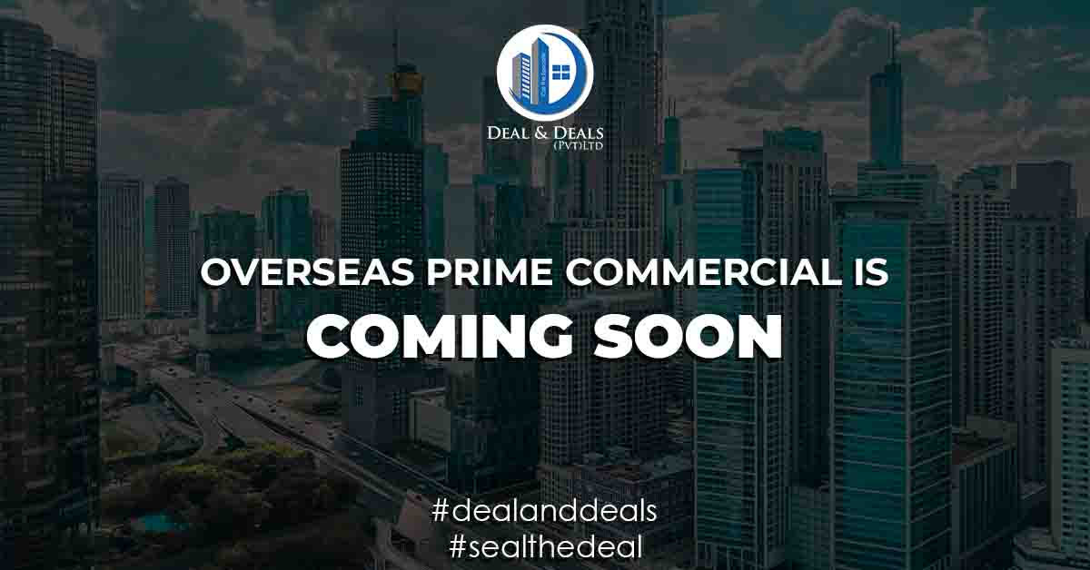 OVERSEAS PRIME COMMERCIAL IS LAUNCHING SOON