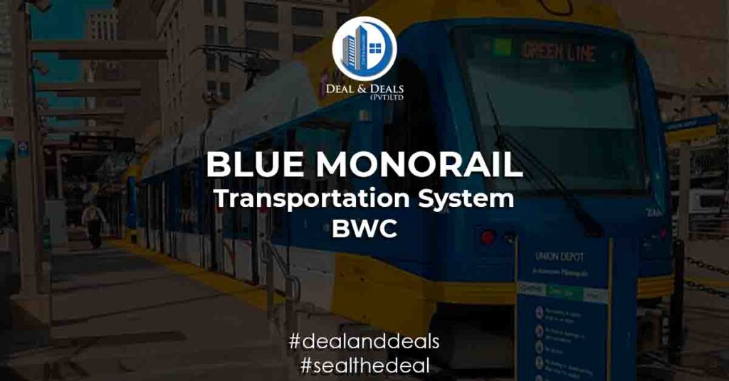 Blue World City Monorail Transportation System