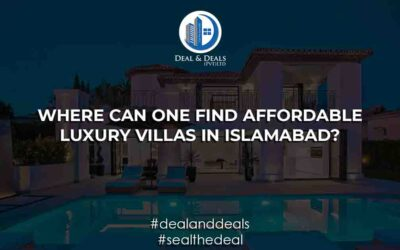 Where Can One Find Affordable Luxury Villas in Islamabad?