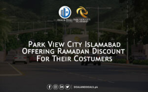 Park View City offers discount in Ramadan