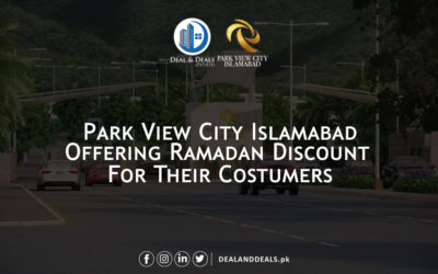 Ramadan Discount Offer for Park View City Customers