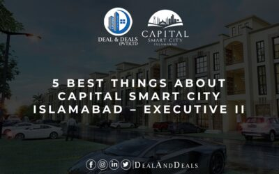 5 Best Things About Capital Smart City Islamabad – Executive II